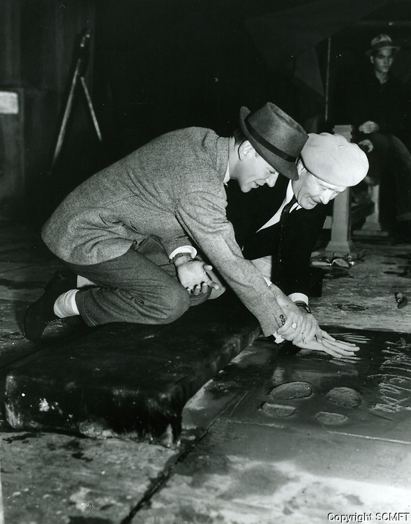 1938 Fred Astaire handprint ceremony