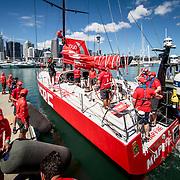 © Maria Muina I MAPFRE. Regata In Port de Auckland. / Auckland In Port Race.