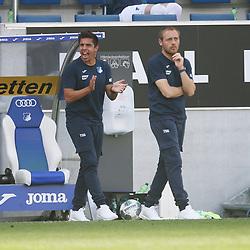 Fußballlehrer Marcel Rapp und Trainer Matthias Kaltenbach (TSG 1899 Hoffenheim)<br /> <br /> Sport: Fussball: Bundesliga: Saison 19/20: TSG 1899 Hoffenheim-1.FC Union Berlin, 20.06.2020.<br /> <br /> Foto: RALF POLLER/AVANTI/POOL/PIX-Sportfotos<br /> <br /> Nur für journalistische Zwecke! Only for editorial use! <br /> Gemäß den Vorgaben der DFL Deutsche Fußball Liga ist es untersagt, in dem Stadion und/oder vom Spiel angefertigte Fotoaufnahmen in Form von Sequenzbildern und/oder videoähnlichen Fotostrecken zu verwerten bzw. verwerten zu lassen. DFL regulations prohibit any use of photographs as image sequences and/or quasi-video.