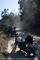 Getting dusty on day-1 of our Himalayan Heroes adventure riding from Kathmandu to Daman, Nepal. Tuesday, November 6, 2018. Photography ©2018 Michael Lichter.