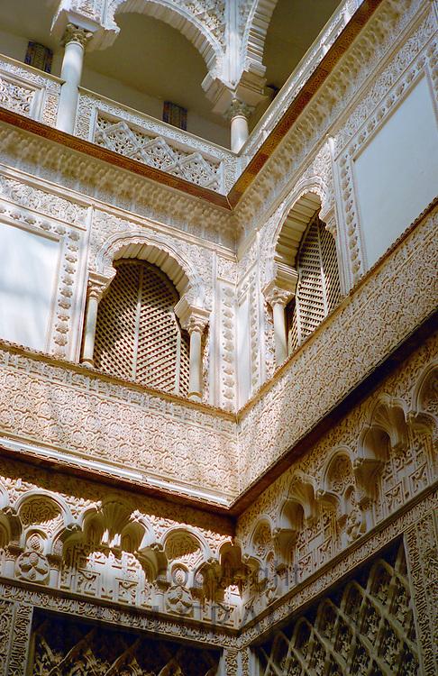 Alcazar Palace in Seville, Spain