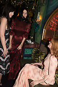 DAISY LOWE, SUSIE CAVE, FLORENCE WELCH Nick Cave and the Bad Seeds with The Vampire's Wife and Matchesfashion.com party to celebrate the end of their 2017 World tour. Lou lou's. Hertford St. Mayfair.