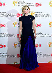 Jodie Whittaker in the press room at the Virgin TV British Academy Television Awards 2018 held at the Royal Festival Hall, Southbank Centre, London.