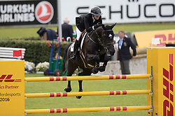 Foster Tiffany, (CAN), Caipiranja<br /> Sparkassen Youngsters Cup<br /> CHIO Aachen 2016<br /> © Hippo Foto - Dirk Caremans<br /> 12/07/16