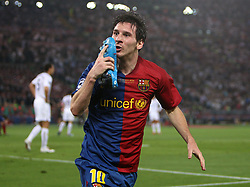 File photo dated 27-05-2009 of Barcelona's Lionel Messi