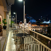 Rex Hotel Roof Top Bar With The View Of Ho Chi Minh, Vietnam