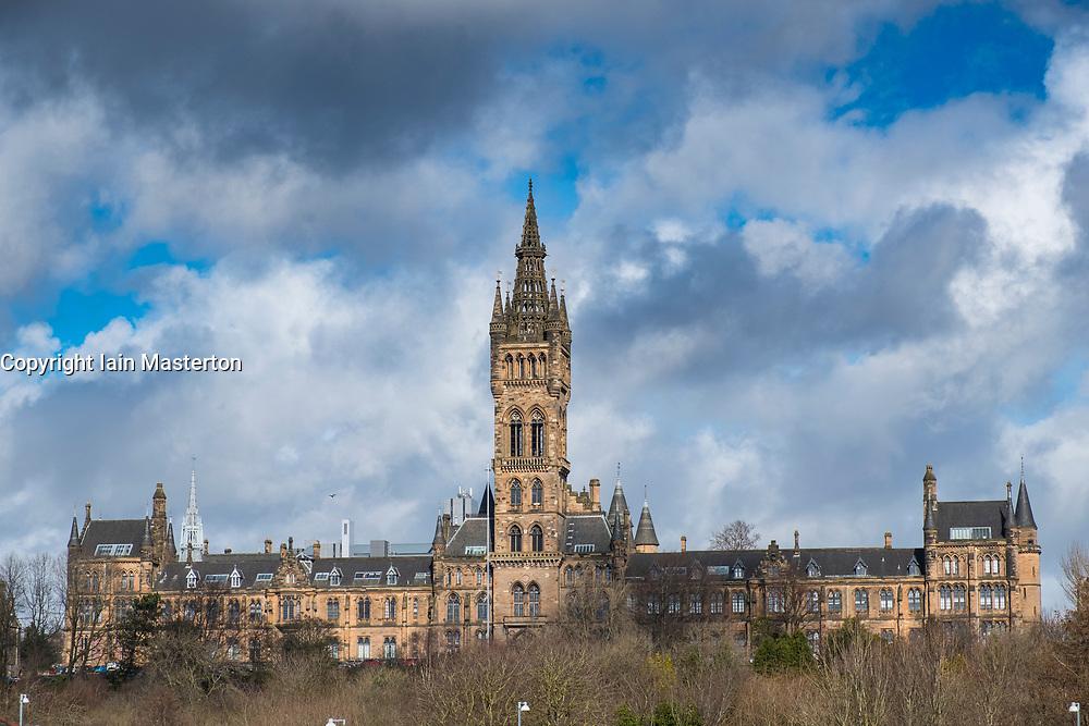 View of  Glasgow University , Scotland, United Kingdom