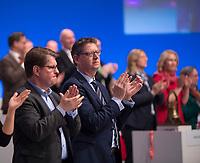DEU, Deutschland, Germany, Berlin, 07.12.2017: SPD-Vize Thorsten Schäfer-Gümbel beim Bundesparteitag der SPD im CityCube.