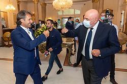 ADRIANO GALLIANI E GIOVANNI CARNEVALI<br /> CALCIOMERCATO 2020 RIMINI<br /> RIMINI 01-09-2020<br /> FOTO FILIPPO RUBIN / MASTER GROUP SPORT