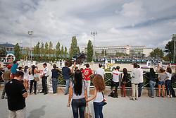 Al Shalan H.H Prince Faisel (KSA) - Talan<br /> Team consolation competition<br /> Furusiyya FEI Nations Cup Jumping Final<br /> CSIO Barcelona 2013<br /> © Dirk Caremans