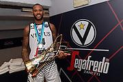 Amath M Baye<br /> Segafredo Virtus Bologna - Iberostar Tenerife<br /> 2019 FIBA Basketball Champions League - Finale 1 - 2 posto Final 1 - 2 place<br /> Anversa, 05/05/2019<br /> Foto M.Ceretti / Ciamillo - Castoria