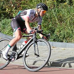 20-09-2020: Wielrennen: omloop: Ulestraten<br /> Nancy van der Burg