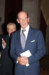 HRH THE DUKE OF KENT  at the Depal Trust 2in1 Art Party at The National Portrait Gallery, London on 25th October 2004.<br /><br /><br /><br />NON EXCLUSIVE - WORLD RIGHTS