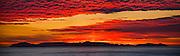 Red Sky over Catalina Island