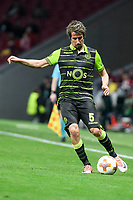Sporting de Lisboa Fabio Coentrao during UEFA Europa League match between Atletico de Madrid and Sporting de Lisboa at Wanda Metropolitano in Madrid, Spain. April 05, 2018. (ALTERPHOTOS/Borja B.Hojas)