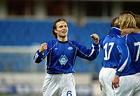 Fotball, 15. oktober 2003, UEFA - cupen, 1 runde, Molde Stadion, Molde-Leiria, Daniel Berg Hestad, Molde