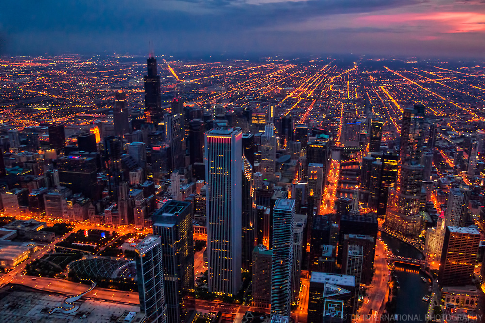 Chicago Loop @ Twilight