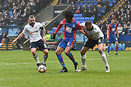 Crystal Palace Forward, Loic Remy (8)  during the The FA Cup 3rd round match between Bolton Wanderers and Crystal Palace at the Macron Stadium, Bolton, England on 7 January 2017. Photo by Mark Pollitt.