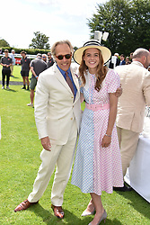 29 July 2021 - The QATAR Goodwood Festival Ladies Day at Goodwood Racecourse, West Sussex.<br /> Picture Shows - The Duke of Richmond & Gordon and Rosie Tapner.<br /> <br /> NON EXCLUSIVE - WORLD RIGHTS