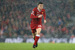 10th December 2017 - Premier League - Liverpool v Everton - Andrew Robertson of Liverpool - Photo: Simon Stacpoole / Offside.