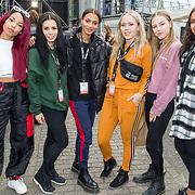 NLD/Breda/20180427 - 538 Koningsdag Breda 2018, Rochelle Perth met haar bandleden