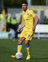 Liam Sercombe of Bristol Rovers on the ball - Mandatory by-line: Arron Gent/JMP - 19/04/2019 - FOOTBALL - Cherry Red Records Stadium - Kingston upon Thames, England - AFC Wimbledon v Bristol Rovers - Sky Bet League One