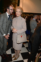 PRINCESS MICHAEL OF KENT and AUSTIN MUTTI MEWSE at the Kent and Curwen London Flagship Launch, Saville Row, London on 6th November 2013.