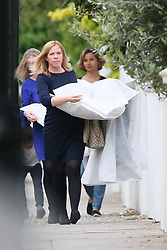 Numerous deliveries are seen arriving at Pippa Middleton's house ahead of her wedding this coming weekend.<br /><br />16 May 2017.<br /><br />Please byline: Vantagenews.com