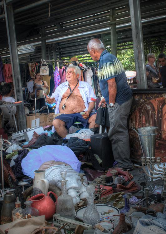 At the Yafo flea-market