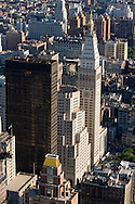 New york. elevated view of Manhattan south , New york - United states   / le Sud de Manhattan vu d'en haut, New york - Etats unis