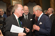 DAVID CAMPBELL; ED VICTOR; PRINCE CHARLES, Everyman 25th Anniversary party, Spencer House. St. James' Place. London. SW1. 26 October 2016