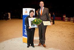 Boa Agriculture BV - Enschede fokker van Chaman<br /> KWPN Hengstenkeuring - 's Hertogenbosch 2012<br /> © Dirk Caremans