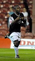 Photo: Ed Godden.<br /> Brentford v Swansea City. Coca Cola League 1. 12/09/2006. Leon Knight celebrates scoring for Swansea to make it 1-0.