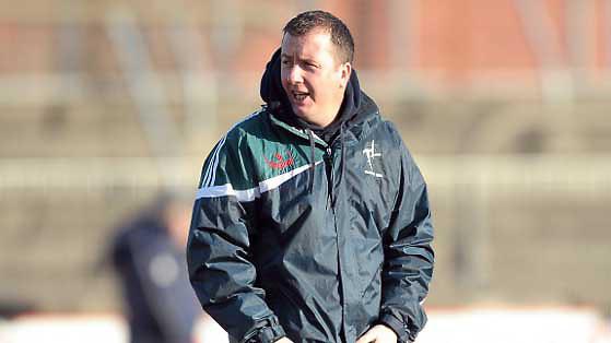 9 January 2011; Kildare selector Niall Carew. O'Byrne Cup, Kildare v Longford, St Conleth's Park, Newbridge, Co. Kildare. Picture credit: Paul Mohan / SPORTSFILE