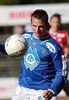 Morten Moldskred, Aalesund.<br /> <br /> Fotball: Kongsvinger - Aalesund 2-2 (5-2 e. straffer). NM 2004 herrer, 3. runde. 8. juni 2004. (Foto: Peter Tubaas/Digitalsport.