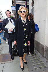 © Licensed to London News Pictures. 21/07/2017. LONDON, UK.  FIONA SHAKLETON, celebrity lawyer representing Petra Ecclestone arrives at the Central Family Court in London.  Petra Ecclestone and James Stunt both failed to attend a case management divorce hearing today to agree settlement of their £5.5billion assets, which includes a £158million mansion in Los Angeles and a Grade II-listed pile in Chelsea, reportedly worth up to £100million.Photo credit: Vickie Flores/LNP