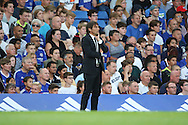 Chelsea manager Antonio Conte looking on during the EFL Cup match between Chelsea and Bristol Rovers at Stamford Bridge, London, England on 23 August 2016. Photo by Matthew Redman.