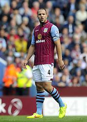 Aston Villa's Ron Vlaar - Photo mandatory by-line: Joe Meredith/JMP - Mobile: 07966 386802 23/08/2014 - SPORT - FOOTBALL - Birmingham - Villa Park - Aston Villa v Newcastle United - Barclays Premier League
