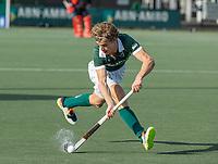 WASSENAAR - Justen Blok (Rotterdam) tijdens de hoofdklasse competitiewedstrijd heren, HGC-HC ROTTERDAM (0-7) .     COPYRIGHT  KOEN SUYK