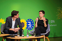 DEU, Deutschland, Germany, Berlin, 23.11.2018: Council of the European Green Party (EGP council) at Deutsche Telekom Representative Office. The European Greens elected Ska Keller (MEP) and Bas Eickhout (MEP) as top duo for the European Parliament election in May 2019.
