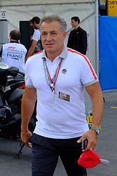 June 23, 2018 - Le Castellet, Var, France - former Formula one Ferrari driver JEAN ALESI (FRA) at the Formula one Grand Prix of France on the Paul Ricard circuit at Le Castellet - France. (Credit Image: © Pierre Stevenin via ZUMA Wire)