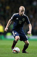 Steven Naismith of Scotland in action  - UEFA Euro 2016 Qualifier - Scotland vs Republic of Ireland - Celtic Park Stadium - Glasgow - Scotland - 14th November 2014  - Picture Simon Bellis/Sportimage