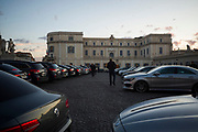 The blue cars outside of Quirinale during meeting for the greetings from the president of the republic for the new year and Christmas19 december 2017 . Christian Mantuano / OneShot<br /> <br /> Auto blu in piazza del Quirinale nel corso della riunione per i saluti del presidente della repubblica per il nuovo anno e per gli auguri di Natale 19 dicembre, 2017. Christian Mantuano / OneShot