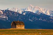 Old Barn near Polson, Montana.