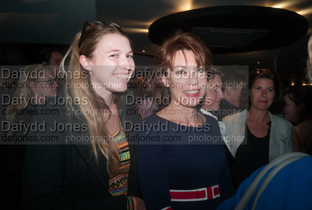 GEORGINA ROBERTSON; KATHY LETTE, BULLY BOY by Sandi Toksvig, St. James Theatre, 12 Palace Street, London. 19 September 2012