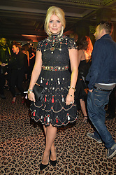 HOLLY WILLOUGHBY at the Warner Music Brit Party held at the Freemason's Hall, 60 Great Queen Street, London on 25th February 2015.