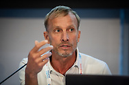 22nd International AIDS Conference (AIDS 2018) Amsterdam, Netherlands.  <br /> Photo shows: Mark Dybul, Georgetown University Medical Centre, United States.<br /> Photo © Steve Forrest/Workers' Photos