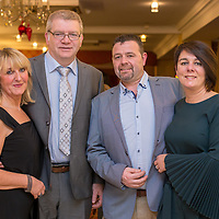 Clare and Gary Savage and Tom and Mary Flavan, Gary and Mary are both Nurse Managers from the Intensive Care Unit Limerick which the proceeds of the evening will benefit.