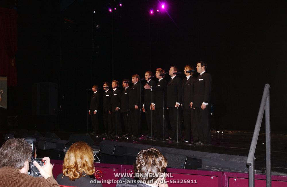 Kerstborrel Princess 2004, ten tenors