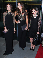 Lucy Watson, Binky Felstead & Louise Thompson, The TV Choice Awards 2014, London Hilton Park Lane, London UK, 08 September 2014, Photo by Brett D. Cove